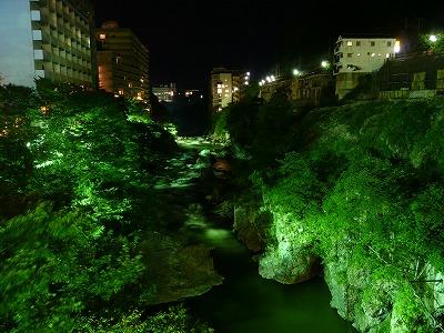 鬼怒川温泉の夜