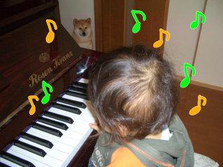 ピアノを弾く王子