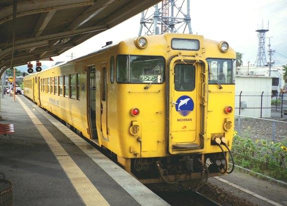 日南線キハ40②