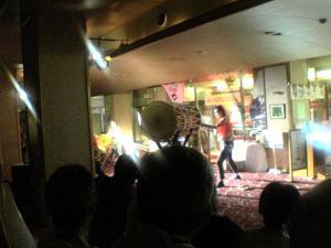 下部ホテル 太鼓