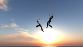 空中ダンス