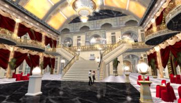 華麗なダンスホール