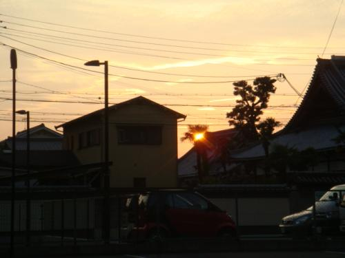 20080711-夕日