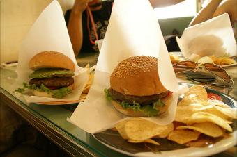20090823 ハンバーガー