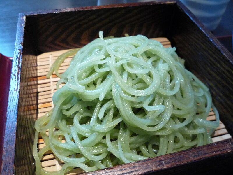 19.手打ち蕎麦 銀杏 (よもぎ切り)