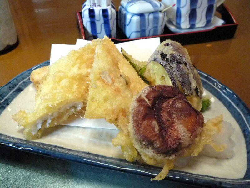 1.蕎麦酒彩 涼馬 (天ぷら)