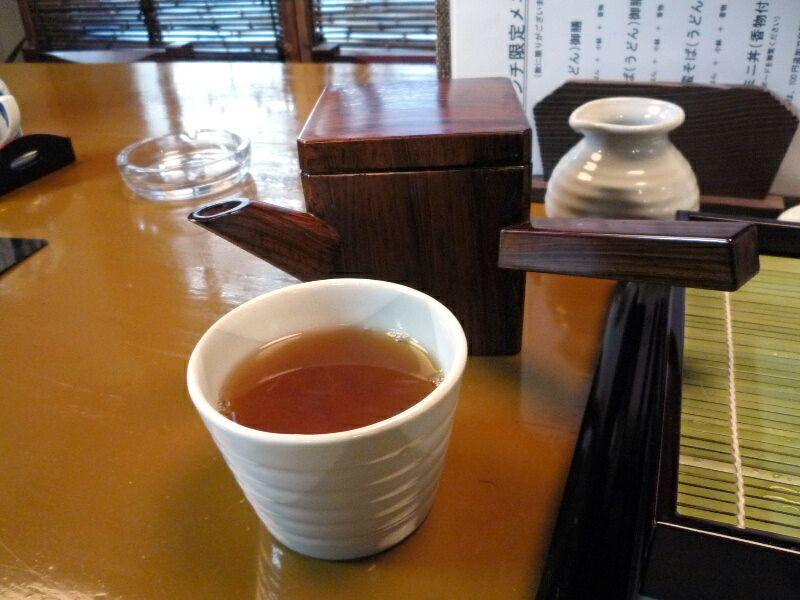 1.蕎麦酒彩 涼馬 (そば湯)