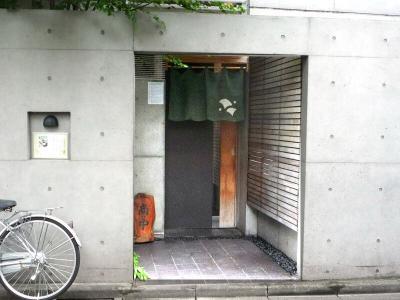 20.手打ち蕎麦 銀杏 (店構え1)