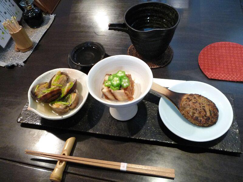 20.手打ち蕎麦 銀杏 (蕎麦屋の酒肴三種)