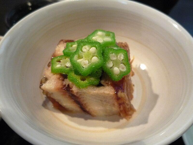 20.手打ち蕎麦 銀杏 (穴子の煮凍り)