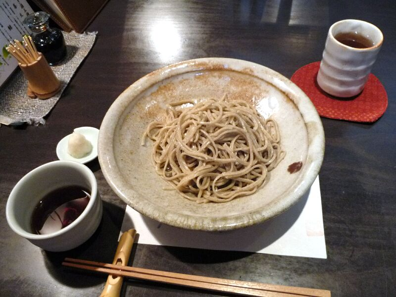 20.手打ち蕎麦 銀杏 (生粉打ち田舎蕎麦)