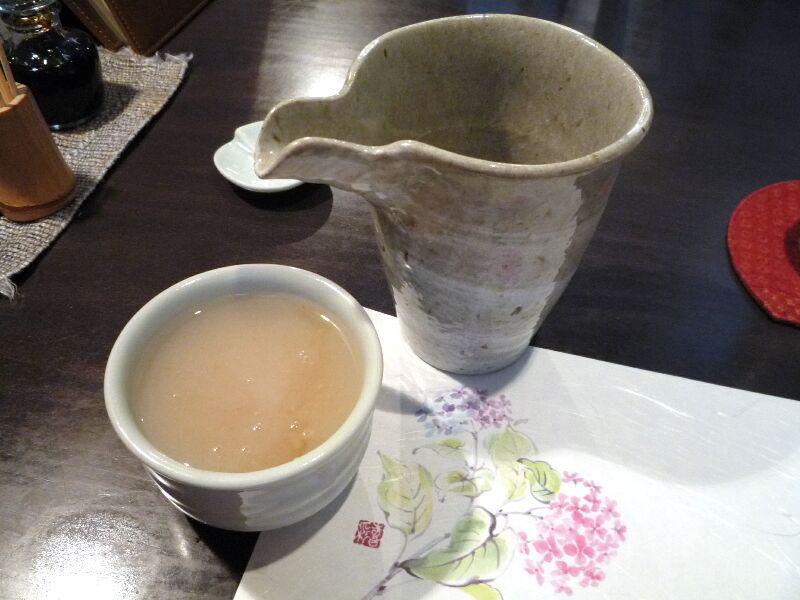 20.手打ち蕎麦 銀杏 (そば湯)