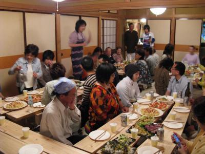 八巻さん夕食会