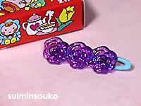 髪どめ01バラ紫