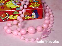 ネックレス_うすピンク