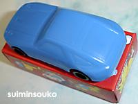 おもちゃ車02青02