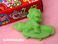 髪どめ01恐竜緑01