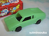 おもちゃ車03緑