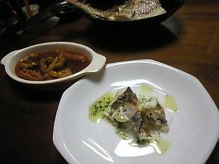 鯛とトマトスープ
