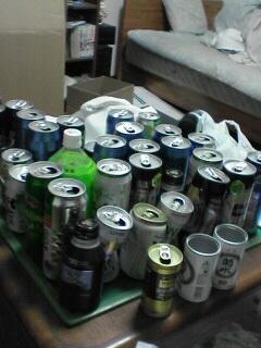 缶缶缶・・・