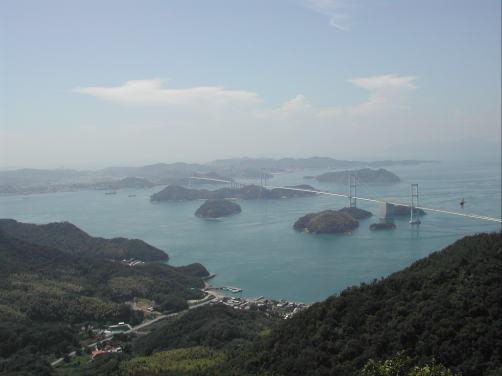 亀老山展望台.2