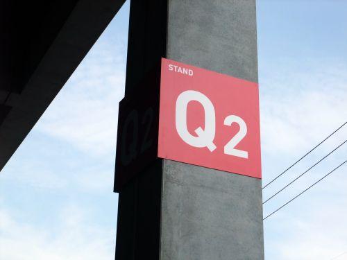 Q2席看板