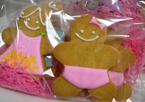 女の子のクッキーデコレーション