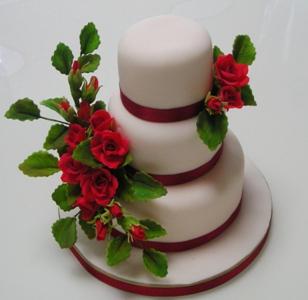 クラシカルウエディングケーキ