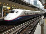 E2系あさま509号@東京駅(しかもこれから乗る新幹線wwww)