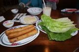 ベトナム料理の揚げ春巻