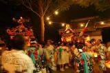 ついに2つの神輿が諸磯神明社の前へ!