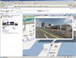 Google Map のストリートビューモード 「新木場 studio coast」