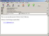 極めつけは、Hotmailアドにメール送ると、「Delivery Status Notification (Failure)」メールが…