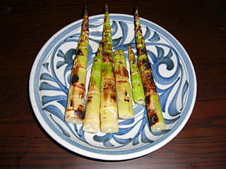 竹の子 焼き