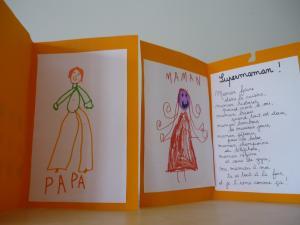 cartes papa et maman