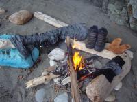 Tsusiat Falls Fire