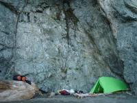 Tsusiat Falls Camp Tent