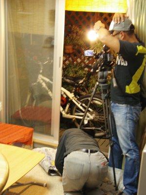 家での撮影1