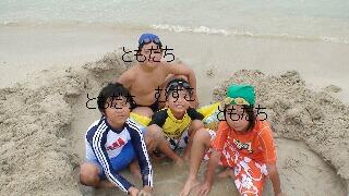 男の子4人