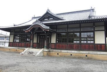 城の中の剣道場