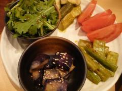 季節のお野菜ナムル仕立て