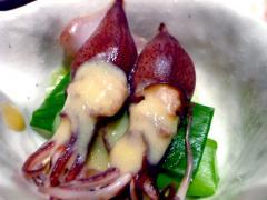 富山ホタルイカ酢味噌