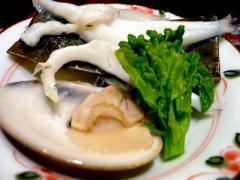白魚、蛤、菜の花