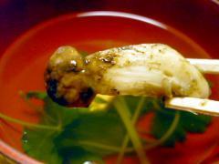 松茸のおすまし