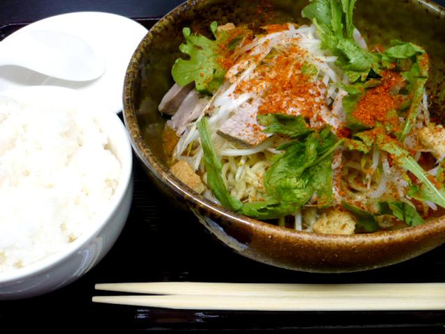 限定 辛味噌和え麺