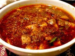四川省の麻婆豆腐