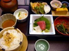 お昼の松花堂弁当