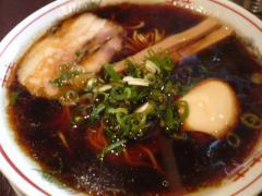 黒醤油細麺