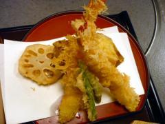 海老天ぷらセット