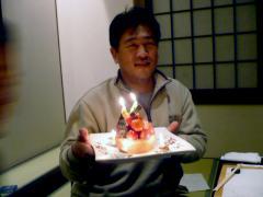 やなもりさんのお誕生日